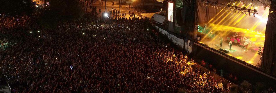 Casa de la Musica - 15 mil espectadores